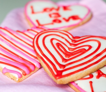 Valentine's Day at Dog Tag Bakery